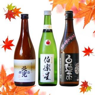 【秋に飲みたい】キリっとドライな硬派セット 720ml×3本