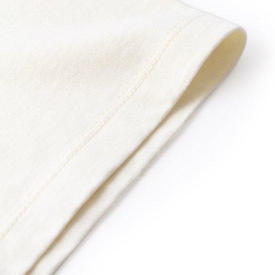 Short Sleeve Scoop Tee Natural