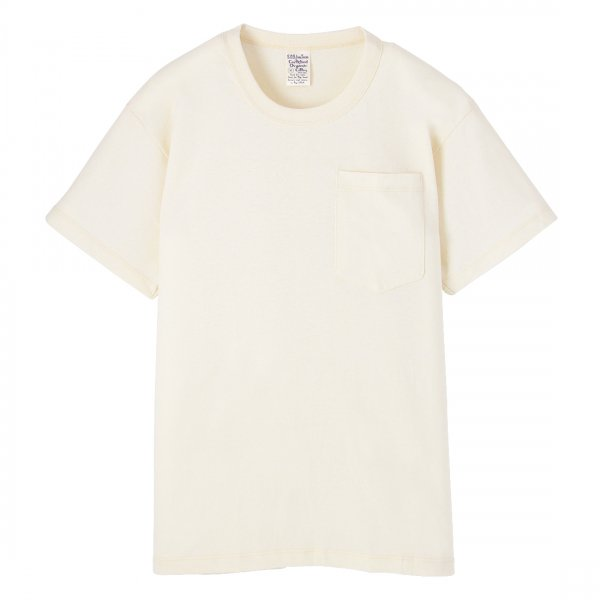 Short Sleeve Pocket Tee Natural