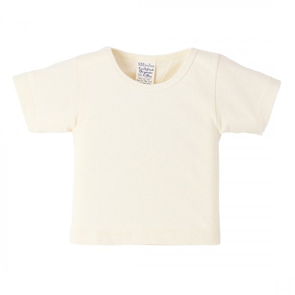 Short Sleeve Baby Tee Natural