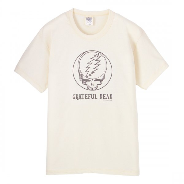 S.O.S. from Texas×GRATEFUL DEAD Short Sleeve Crew Tee Natural
