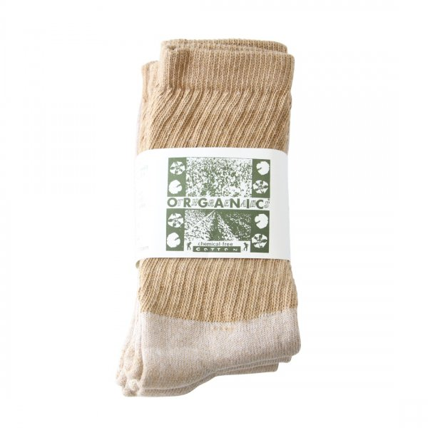 ORGANIC THREADS Regular Crew 3Pack Brown