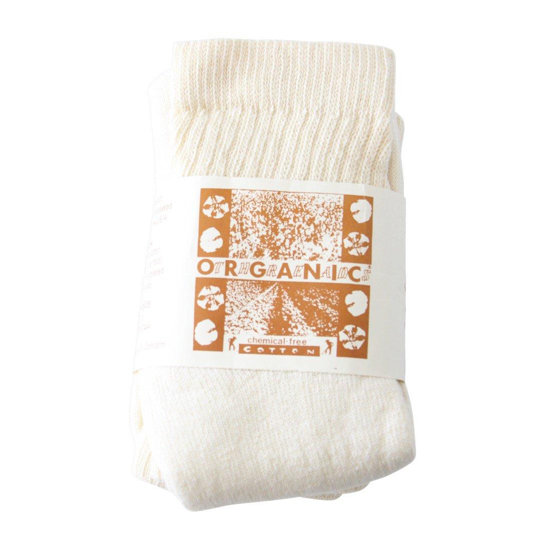 ORGANIC THREADS Short Top Crew 3Pack Cream