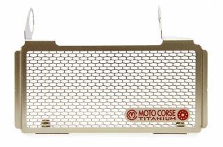 チタニウム プロテクションスクリーン オイルクーラー for Ducati Hypermotard 939 (2016-2019) / Hypermotard 950