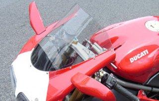 オプティカル ウインドスクリーン for Ducati 998 / 996 / 916 / 748