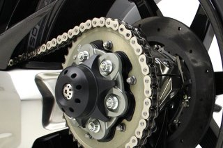 アクスルスライダー with チタニウム リア DVCタイプ for Ducati Streetfighter V4 / Panigale V4 / Diavel 1200