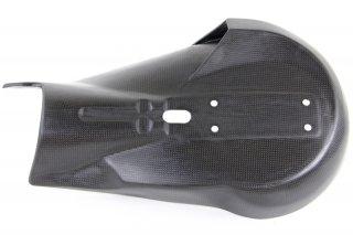 チタニウム エキゾースト システム Evoluzione Φ75mm for 1199 Panigale AKRAPOVIC サイレンサー用 専用 カーボン エキゾーストヒートシールド
