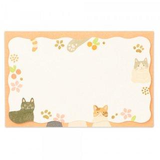 SH封筒付メッセージカード 猫