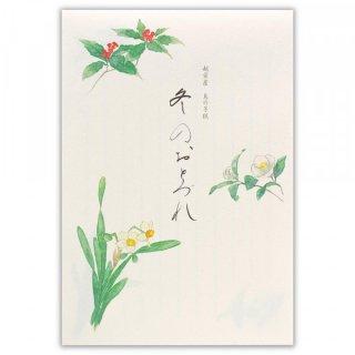 KTF B5便箋 冬の花