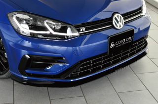 Produced by Next innovation<br>for Volkswagen Golf7.5 / Golf7<br>Front Splitter / グロスブラック 5mm