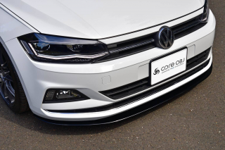 Produced by Next innovation<br>for Volkswagen Polo (AW1)<br>Front Splitter / グロスブラック 5mm