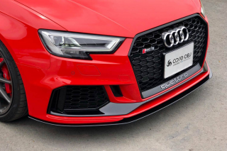 Produced by Next innovation<br>for Audi RS3 (8VM/8VF)<br>Front Splitter/カーボンファイバー 5mm