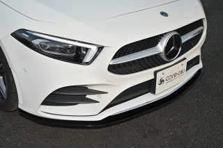 Produced by Next innovation<br>for Mercedes-Benz A-Class (W177/V177)<br>Front Splitter/カーボンファイバー 5�