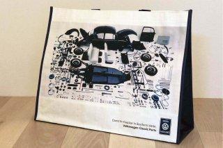 Volkswagen SHOPPER BAG<br>Volkswagen CLASSIC PARTS<br>VW SHOPPER BAG Beetle & Golf