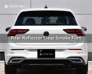 <img class='new_mark_img1' src='https://img.shop-pro.jp/img/new/icons15.gif' style='border:none;display:inline;margin:0px;padding:0px;width:auto;' />core OBJ Rear Reflector Clear Smoke Film for Volkswagen
