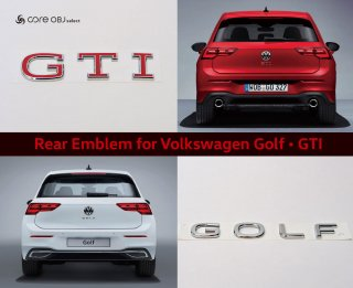 <img class='new_mark_img1' src='https://img.shop-pro.jp/img/new/icons15.gif' style='border:none;display:inline;margin:0px;padding:0px;width:auto;' />core OBJ select Rear Emblem Volkswagen Golf ・GTI
