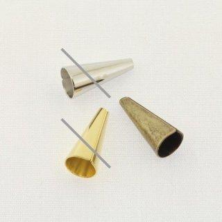 メタルビーズ メタルキャップ 13×6mm 真鍮古美 4個 MM0460-06