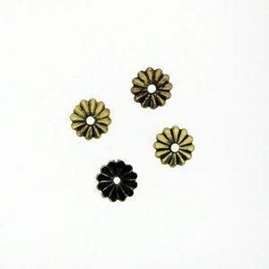 メタルパーツ フラワーキャップ 5mm 20個 MM0488