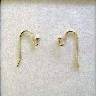 玉付きピアス 真鍮製 ゴールド/ロジウム/真鍮古美 5ペア入 PC0035