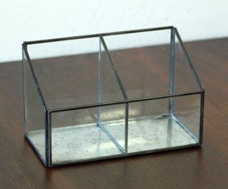 ディスプレイ什器:メタルフレーム セパレートガラスケース
