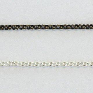 チェーン 甲丸 1.5mm 真鍮古美 1M CN3019