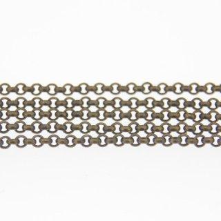 チェーン 甲丸 1.8mm 真鍮古美1M
