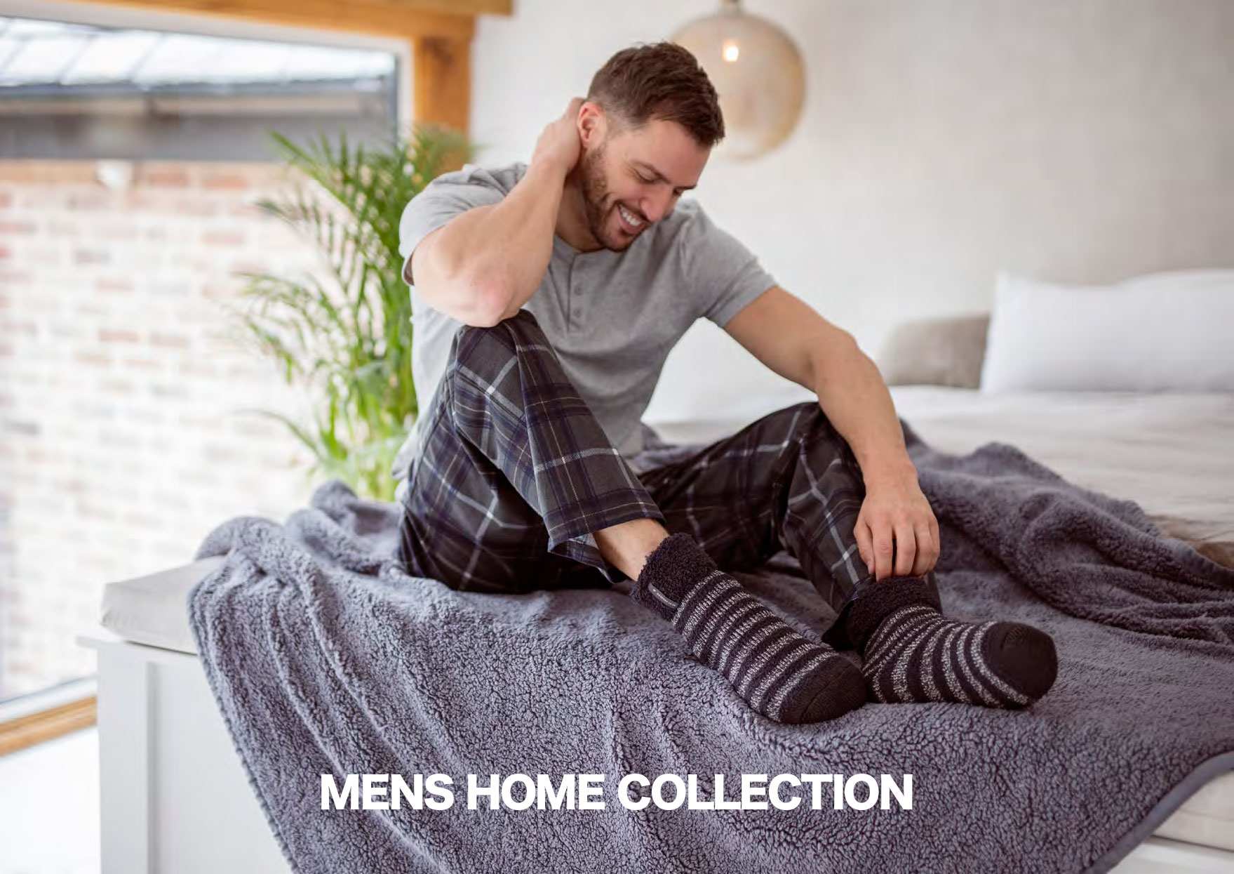 Lady's home  socks collection