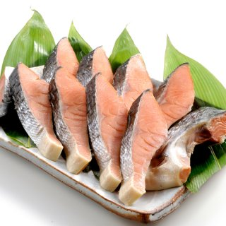 <水産物応援商品>北海道産 新巻鮭寒風干し 10切れ 送料無料 #元気いただきますプロジェクト