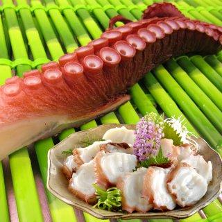 <水産物応援商品>北海道産 刺身用煮だこ 極太1本 送料無料 #元気いただきますプロジェクト
