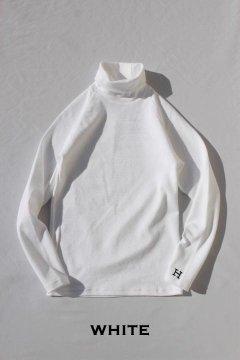 ハリウッドランチマーケット/ストレッチフライス タートルネックロングスリーブTシャツ