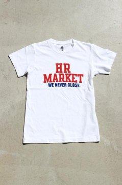 ハリウッドランチマーケット/HR MARKET カレッジ Tシャツ