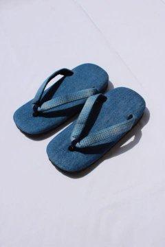 BLUE BLUE JAPAN/ブルーデニム インディゴオンブレチェックハナオセッタ