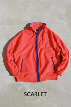 <img class='new_mark_img1' src='https://img.shop-pro.jp/img/new/icons20.gif' style='border:none;display:inline;margin:0px;padding:0px;width:auto;' />MT.RAINIER DESIGN/DEPOT FLEECE ZIP JACKET SCARLET,TEAL