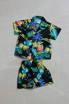 ROBERT J. CLANCEY/98シャツ&ショーツセット キッズ BLK