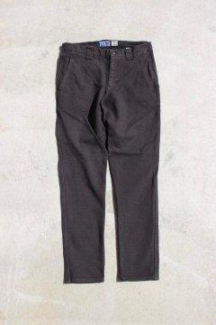 BLUE BLUE JAPAN/シャドーボックスストレッチ アンクルライン パンツ BLACK