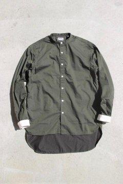 San Francisco/ギザコットン スタンドカラーシャツ