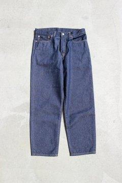 ハリウッドランチマーケット/PA1852 テーパードリラックスジーンズ