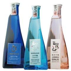 【送料無料】苗場山 ドレス瓶 3種飲み比べセット