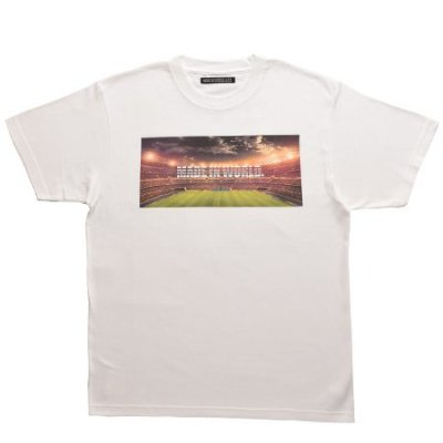 【即納】MADE IN WORLD☆ メイドインワールド Tシャツ / crew neck tee (stadium) white