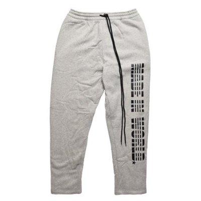 【即納】MADE IN WORLD☆ メイドインワールド スナップ パンツ / logo snap pants gray