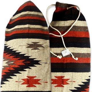 サイズ[6.1 x 21] ハンドメイド ボードバック メキシコの伝統的織物 世界で一つのデザイン(北海道・九州・沖縄への配送は表示価格+600円となります)