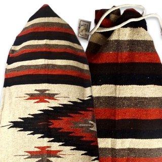 サイズ[6.2 x 21] ハンドメイド ボードバック メキシコの伝統的織物 世界で一つのデザイン(北海道・九州・沖縄への配送は表示価格+600円となります)