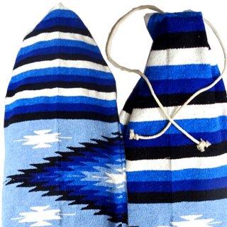 サイズ[6.4 x 22] ハンドメイド ボードバック メキシコの伝統的織物 世界で一つのデザイン(北海道・九州・沖縄への配送は表示価格+600円となります)