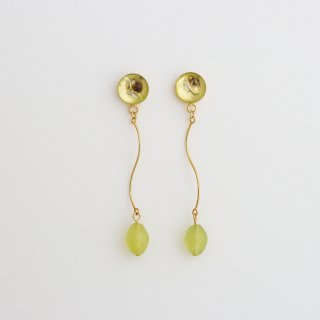 New jade ピアス