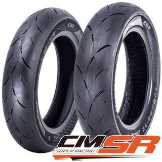 CST タイヤ CM-SR 100/90-10 56J TL ミニバイク用 ハイグリップタイヤ