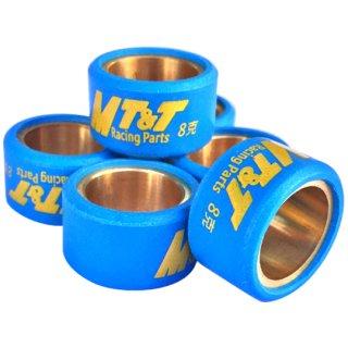 MT&T製 ウエイトローラー 20mm x 12mm 6個セット ウエイト各種(定型外郵便の場合送料無料)