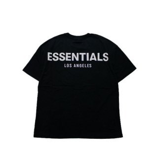 FOG ESSENTIALS フィアオブゴッド エッセンシャルズ LA LIMITED RIFLECTOR LOGO TEE/BLACK
