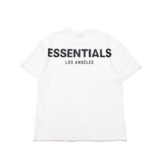 FOG ESSENTIALS フィアオブゴッド エッセンシャルズ LA LIMITED RIFLECTOR LOGO TEE/WHITE