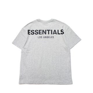 FOG ESSENTIALS フィアオブゴッド エッセンシャルズ LA LIMITED RIFLECTOR LOGO TEE/LIGHT GREY