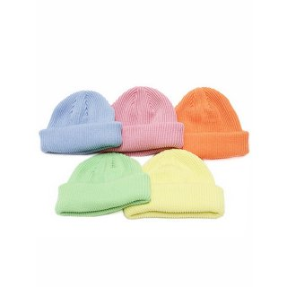 ADVANCE アドバンス COTTON BEANIE/ORANGE,PINK,LIGHT BLUE,LIGHT YELLOW,LIGHT GREEN